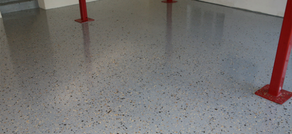 Coverings Epoxy Paint Flakes Granite